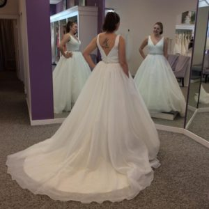 Keep An Open Mind And Try Things Out Of Your Comfort Zone You Would Be Surprised How Many Brides End Up With A Dress They Never Thought D Like
