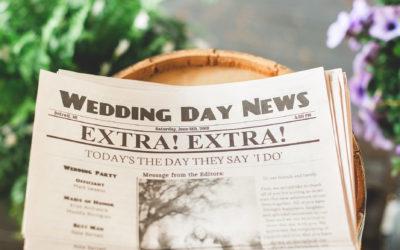 3 Ways to make sure your Wedding is Unique!